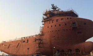 Statek, który zostanie przerobiony na ekskluzywny jacht