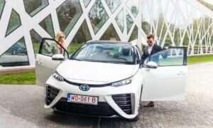 Pierwsze Toyoty Mirai zostały zarejestrowane w Polsce