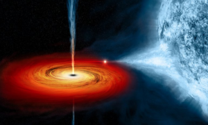 Niesamowity szyk kilkunastu czarnych dziur. Przypadek?