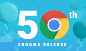 Infografika z okazji 50-tej aktualizacji Chrome