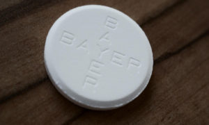 Aspiryna zmniejsza ryzyko pełnego udaru po mini-udarze