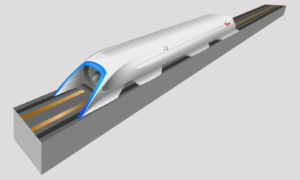 Pełnowymiarowy prototyp Hyperloop odbywa swój pierwszy test