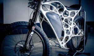 Light Rider – pierwszy wydrukowany w 3D motocykl