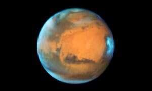 Teleskop Hubble'a fotografuje Marsa