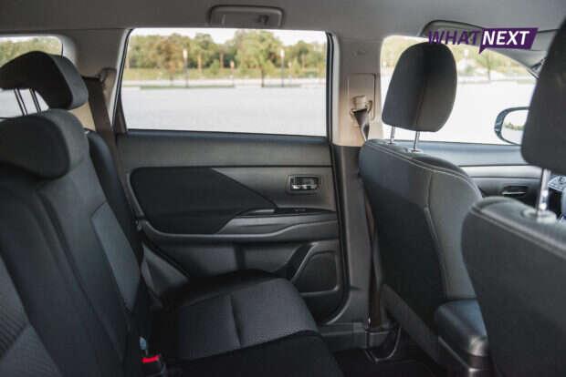 Mitsubishi Outlander 2016 siedzenia