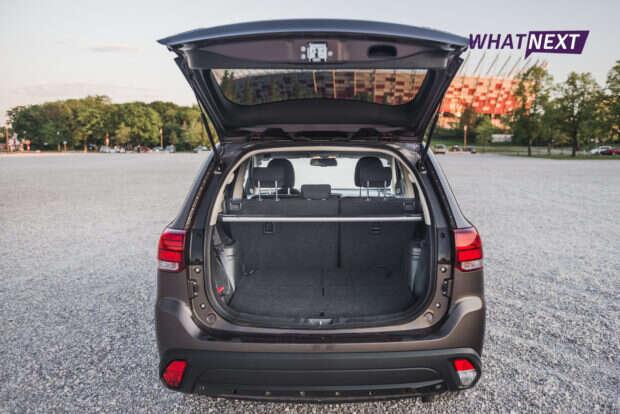 Mitsubishi Outlander 2016 bagażnik