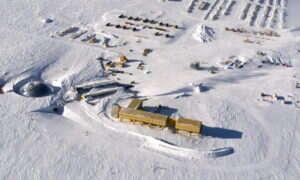 Tajemnicza ewakuacja z Antarktydy