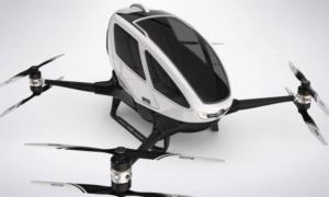 Pasażerski dron EHang 184 ze zgodną na testy w powietrzu