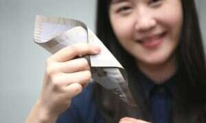 Rewolucyjny, elastyczny czujnik nacisku stworzony przez LG