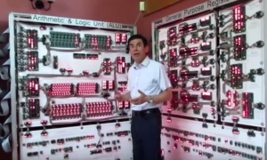 Megaprocessor – ogromny komputer zbudowany przez pasjonata