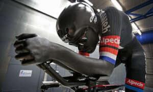Drukowany 3D, aerodynamiczny strój uczestnika Tour de France