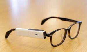 Aparat fotograficzny montowany na okularach