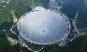 Chińczycy ukończyli budowę FAST – największego radioteleskopu na świecie