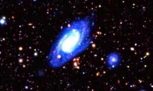 Nowe, podczerwone zdjęcia odległego kosmosu