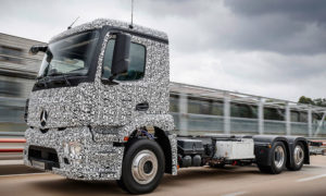 Urban eTruck – pierwsza elektryczna ciężarówka Mercedesa