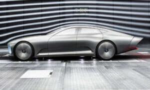 Mercedes pracuje nad luksusowym elektrycznym sedanem