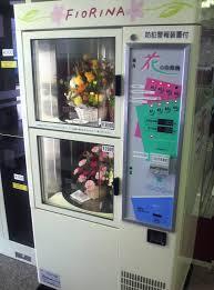 Automat z kwiatami