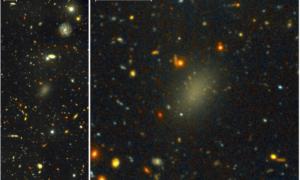 Dragonfly 44 – galaktyka niemal wyłącznie z ciemnej materii