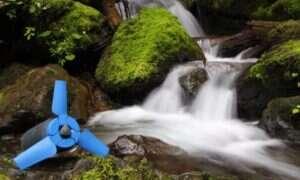 Estream – ładowarka zasilana turbiną wodną