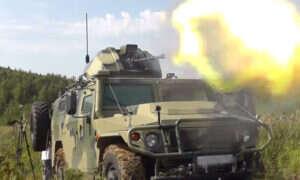 Zdalnie sterowany samochód wojskowy Tigr