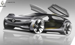 Tak w przyszłości mogą wyglądać autonomiczne samochody od Renault