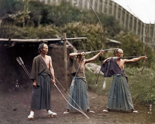 Trening samurajów