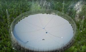 Największy na świecie teleskop już działa!