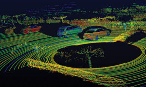 Tani lidar podstawą dla autonomicznych samochodów