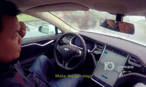 Hakerzy byli w stanie zdalnie kontrolować Tesla Model S, kiedy był on w ruchu