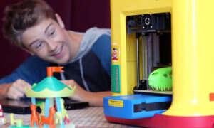 Zabawkowa drukarka 3D, która pozwoli dzieciom rozwijać zdolności inżynierskie