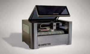 Maszyna pozwalająca na uzyskanie szybkich prototypów płytek drukowanych