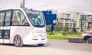 Autonomiczny bus w Lyonie