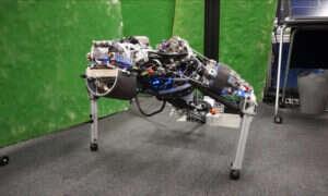 Robot Kengoro, potrafi pocić się tylko po to, by zrobić więcej pompek
