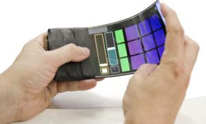 Smartfon jako instrument, na którym gra się przy pomocy wyginania