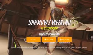Darmowy weekend z Overwatch
