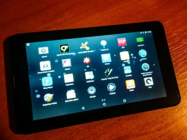 Overmax Qualcore 7030 4G aplikacje