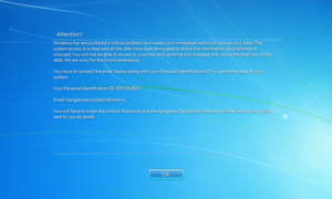Kangaroo – ransomware odcinający nas od korzystania z Windowsa i szyfrujący nasze pliki