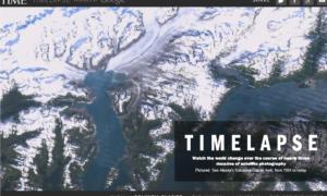 Update do Google Earth pokazuje, jak zmieniał się klimat na naszej planecie