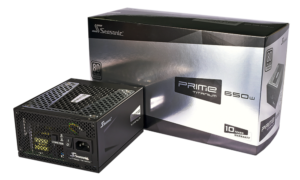 Test zasilacza Seasonic Prime 650W Titanium
