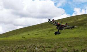 Drony już wkrótce mogą latać po niebie z próbkami krwi