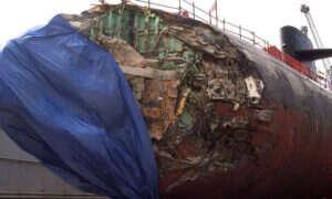 Krótka opowieść o tym, jak 11 lat temu łódź podwodna zderzyła się z górą