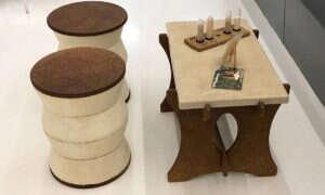 Co powiecie na meble stworzone z grzybów
