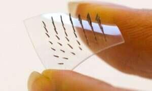 Plaster z mikroigłami stworzony dla poprawienia komfortu chorych