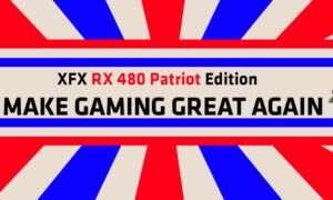 Nowa grafika od XFX z okazji zaprzysiężenia prezydenta USA
