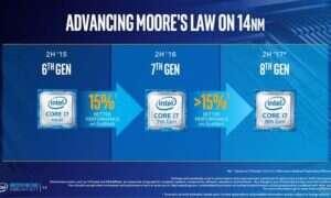 Poznaliśmy nowe informacje na temat 8 generacji procesorów od Intela