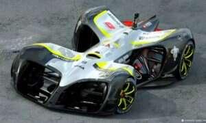 Oto Robocar – autonomiczny, elektryczny samochód wyścigowy z designem rodem z Trona