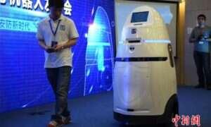 Chińskie ulice są patrolowane przez połączenie R2-D2 i Robocopa