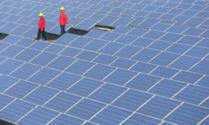 Chiny stały się największym producentem energii słonecznej