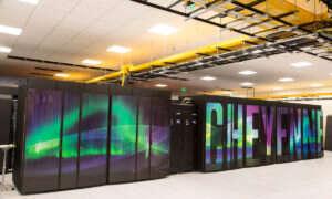 Cheyenne – nowy superkomputer analizujący zmiany klimatu