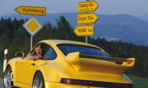 Porsche oddaje hołd ikonie motosportu – Walterowi Röhrlowi